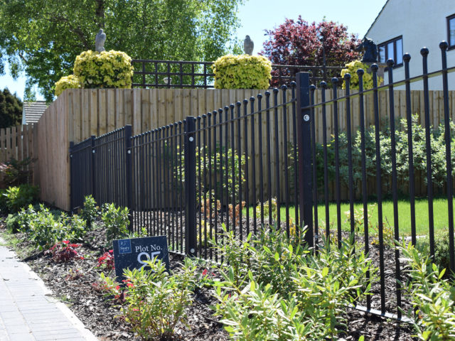 Installing Security Fencing