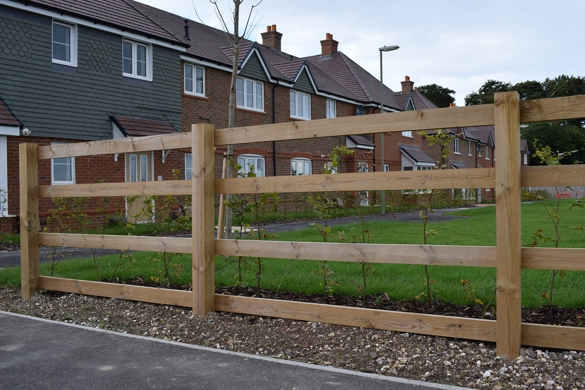 Gramm Barriers Timber Post and Rail Fencing